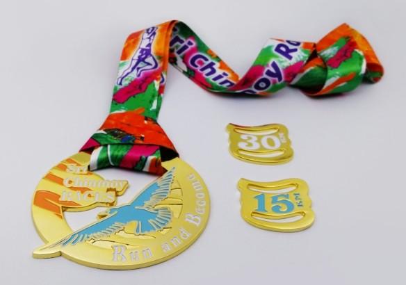медаль финишера Одесская 30-ка